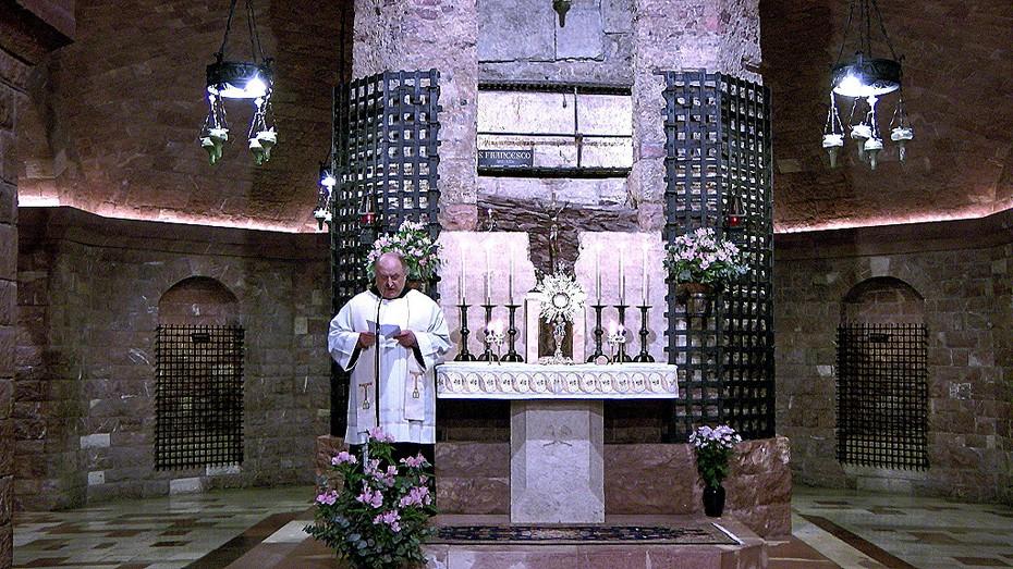 Assisi, Terziari in preghiera, iniziazione al Noviziato