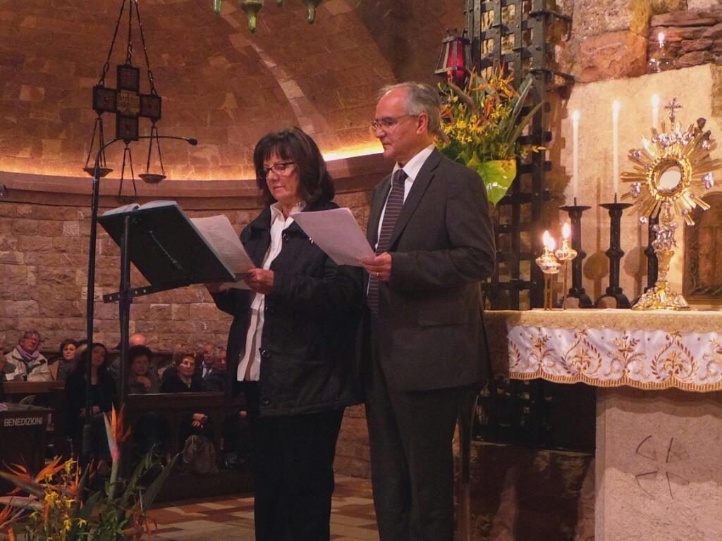 Ordine Francescano Secolare, ad Assisi intensa serata di preghiera