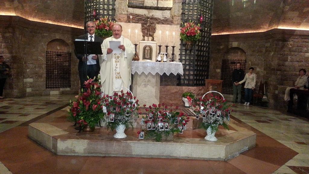 Ordine Francescano Secolare di Assisi, Messa di Santa Rita giovedì 21 maggio