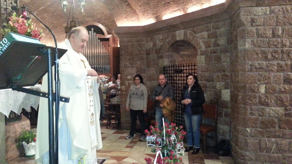 Assisi, 20 gennaio 2015 serata di preghiera alla Cappella della Pace
