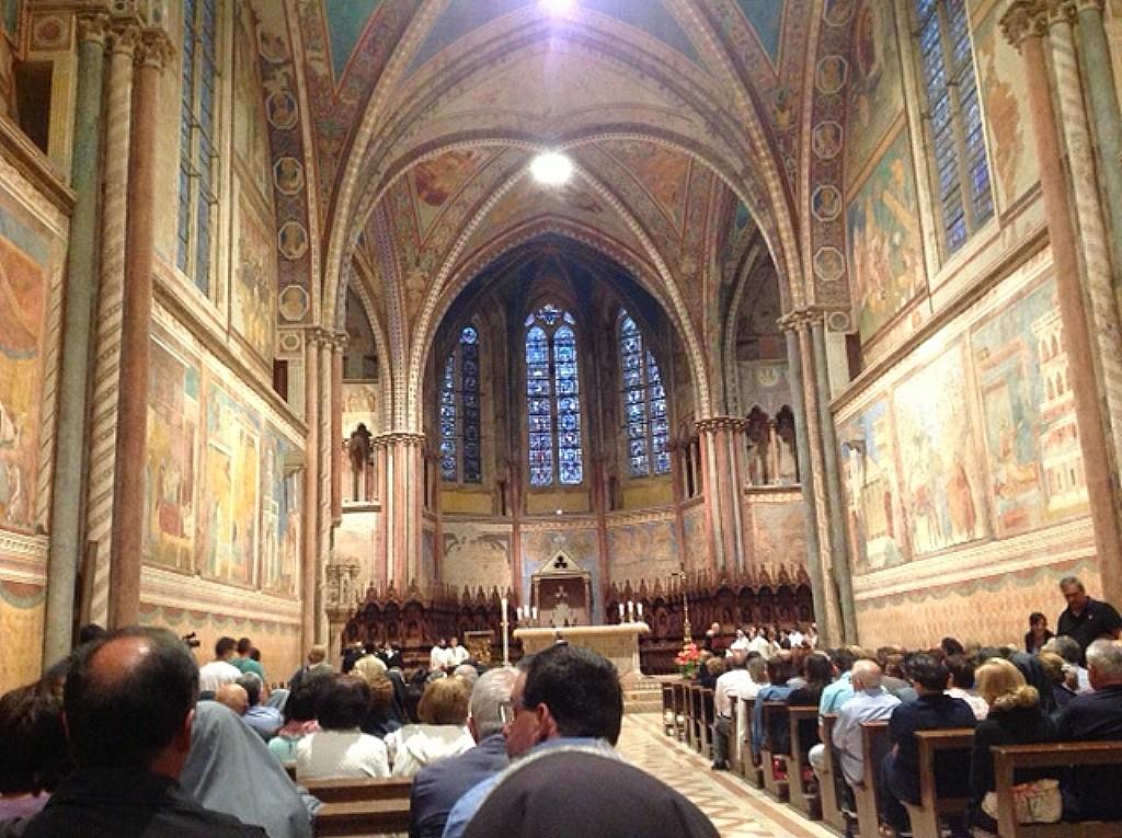 Preghiera da Assisi per l'Italia